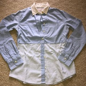 J Crew Oxford Button Down Shirt